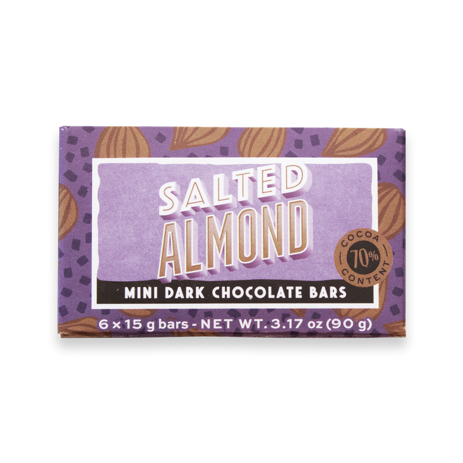 Mini Bar Pack Salted Almond Dark