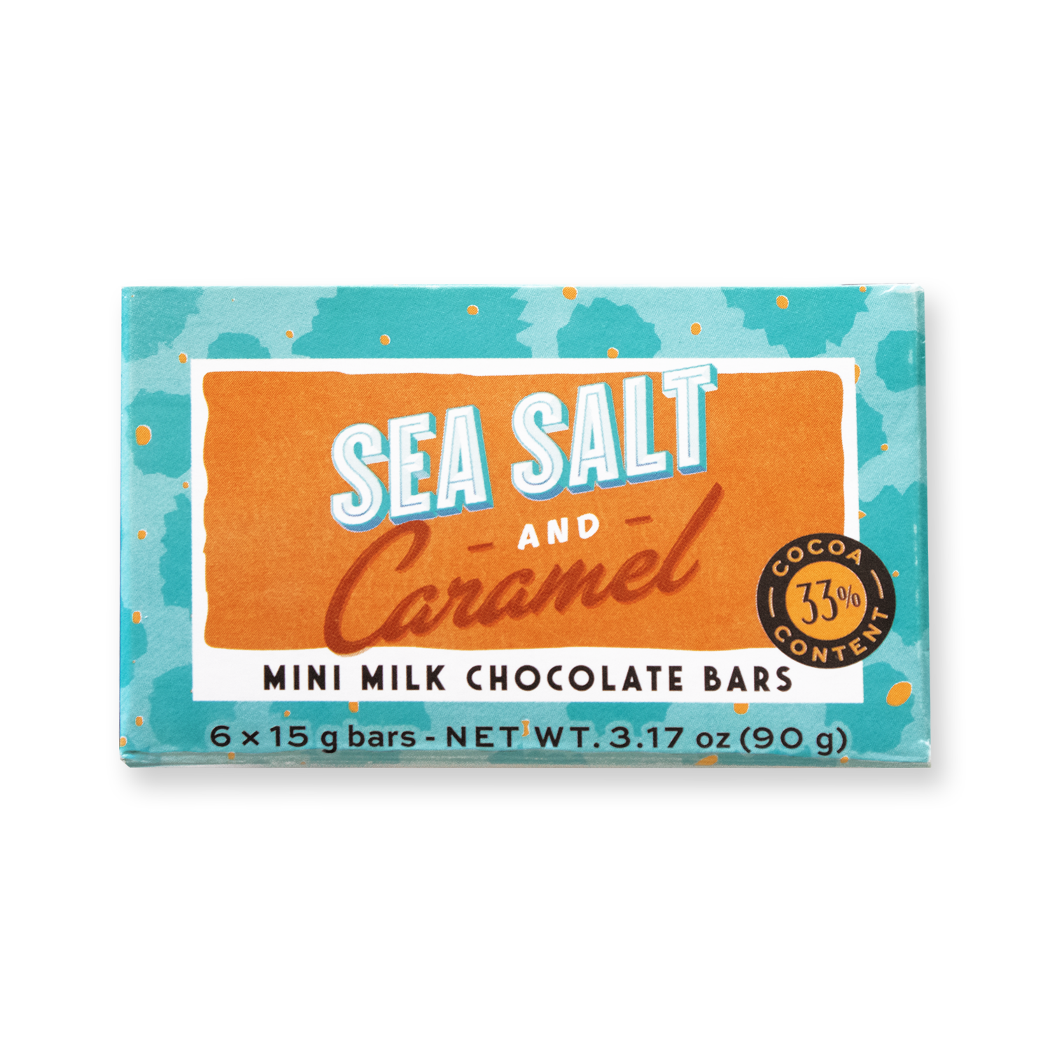 Mini Bar Pack Sea Salt And Caramel