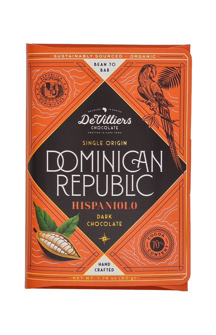 Dominican Republic Hispaniolo Single Origin - De Villiers Chocolate