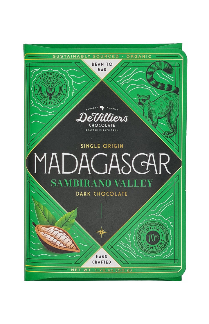 Madagascar Sambirano Valley Single Origin - De Villiers Chocolate
