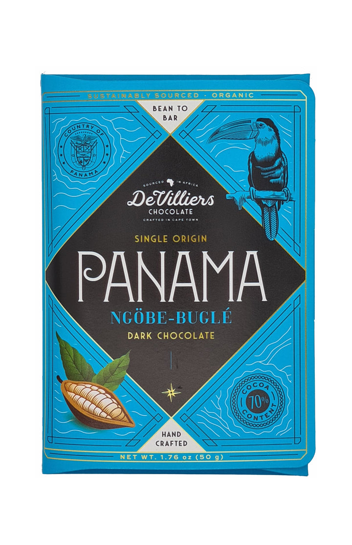 Panama Ngöbe-Buglé SINGLE ORIGIN - De Villiers Chocolate