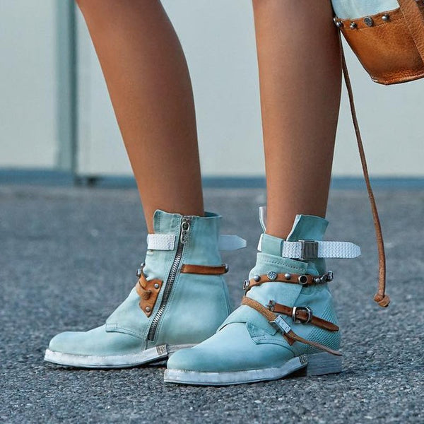 Buckle Casual Chic Boots