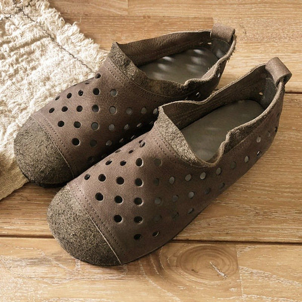 Breathable Hollow-out Flat Shoes