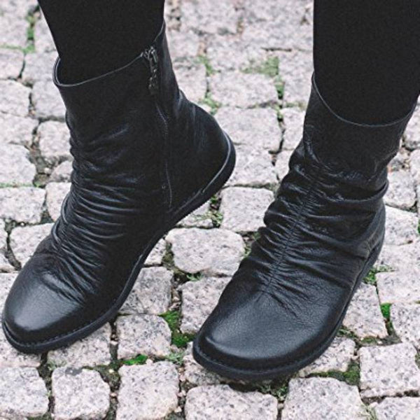 Plus Size Women Casual Soft Ankle Boots