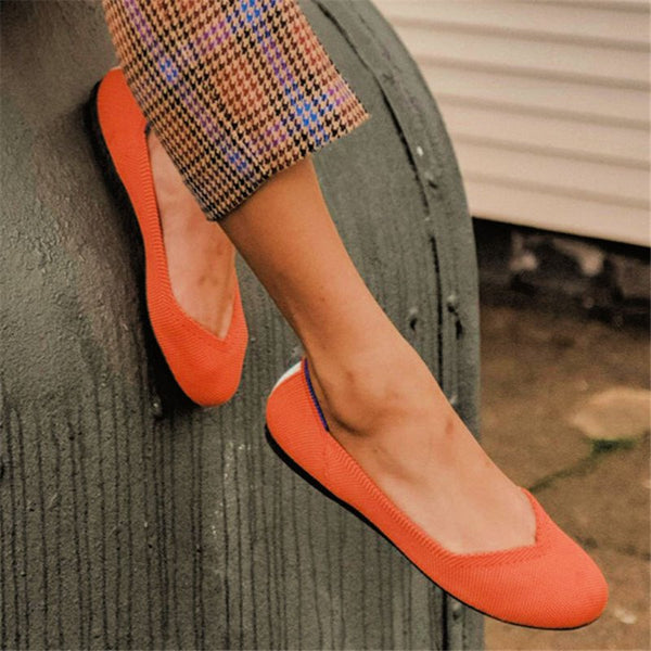 Women Casual Comfy Daily Slip On Flats
