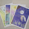 Magical Woodland and Wildlife Blank Greetings card multipack
