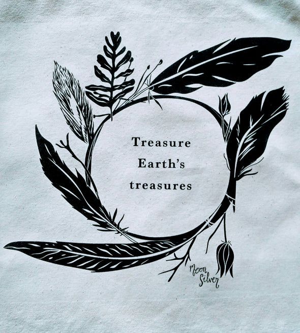 Earth's Treasures Shamanic Wreath Tote