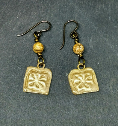 Moonsilver ancient Rome inspired earrings