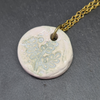 Moonsilver Ceramic Fern Necklace