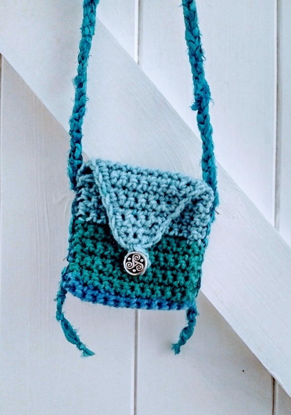 Moonsilver medicine bag necklace