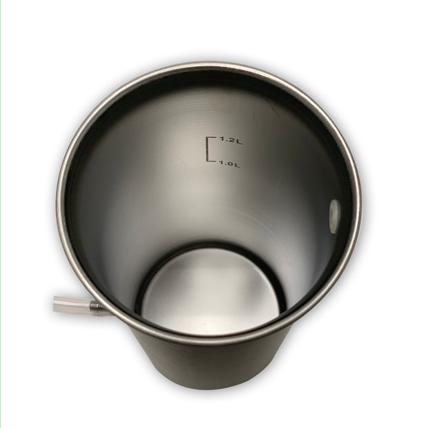 FDA Approved D328712 Patented 15/983049 Stainless Steel Bucket Enema Wholesale - Yahui Bio