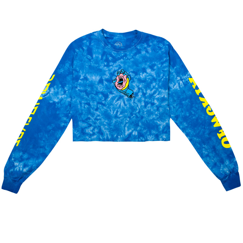 Odd Future x Santa Cruz Crystal Washed Cropped Long Sleeve