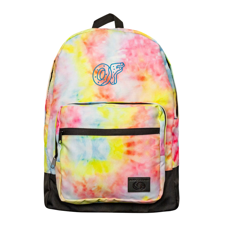 OF Tie Dye Colored Backpack