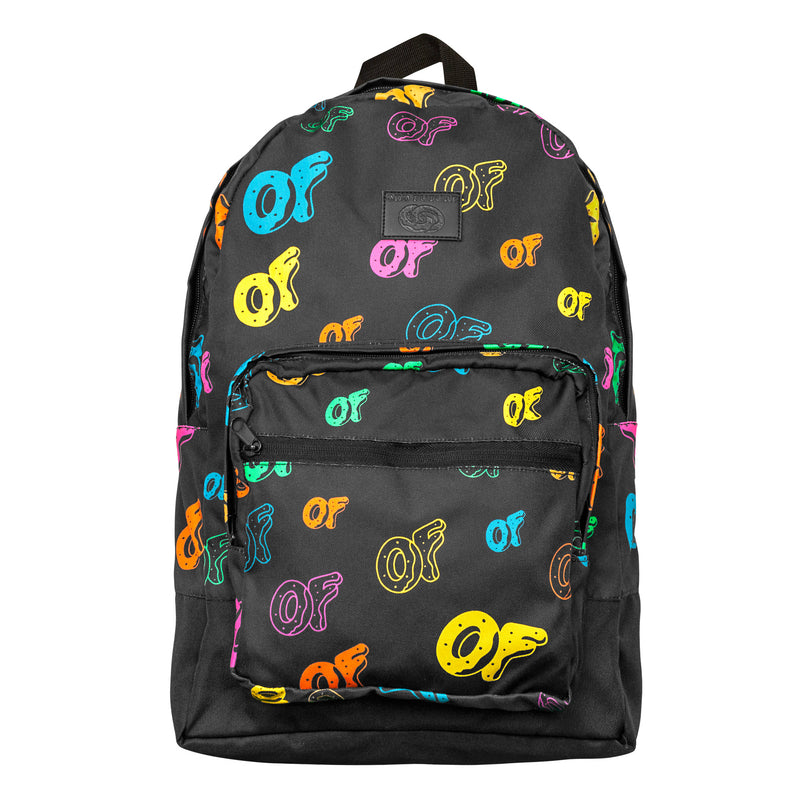 OF Allover Print Backpack