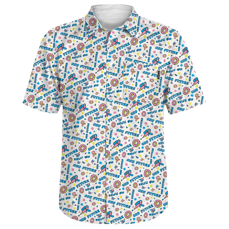 WATERGUNS WOVEN SHIRT-Odd Future