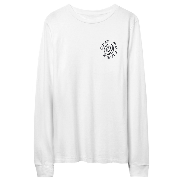 In The Round Longsleeve Shirt - White