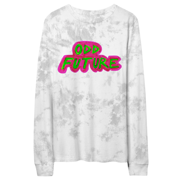 Highlighter Longsleeve Shirt - Grey/White Crystal Wash
