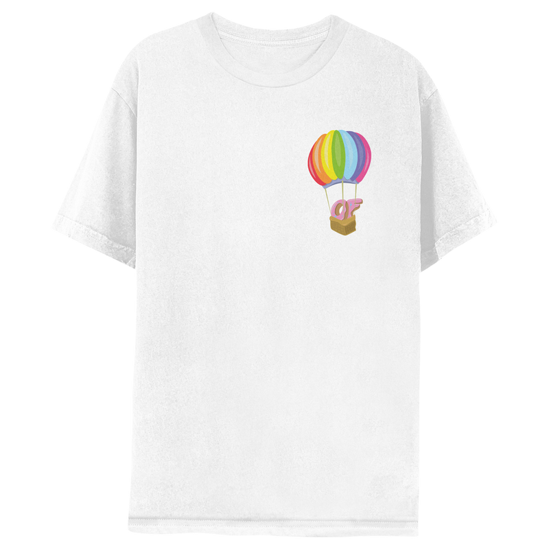 Hot Air Balloon T-shirt - White