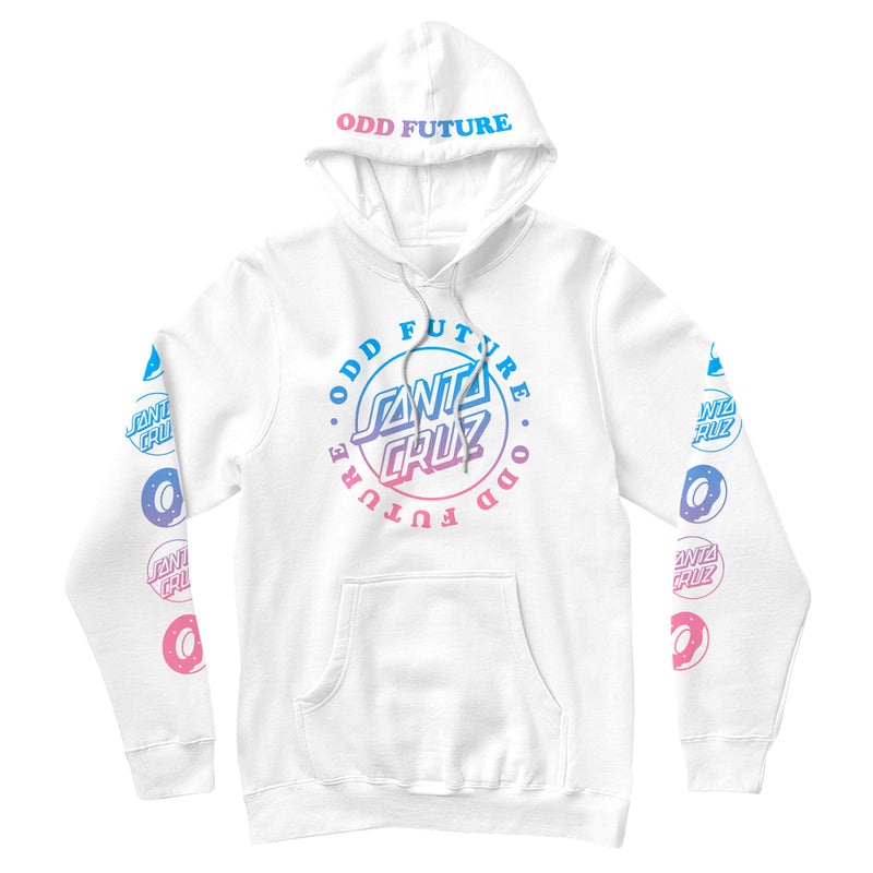 SANTA CRUZ/SCREAMING OF LOGO HOODIE-Odd Future