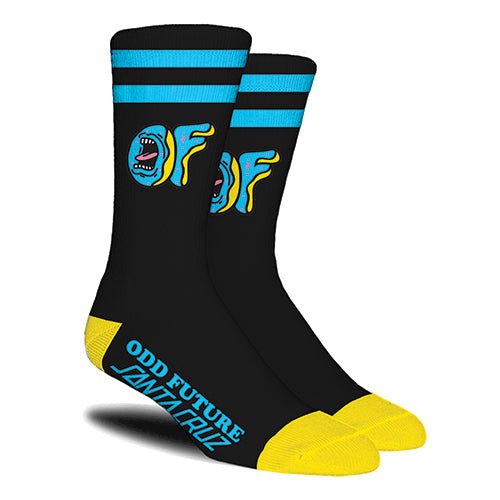 SCREAMING OF X SANTA CRUZ SOCKS-Odd Future