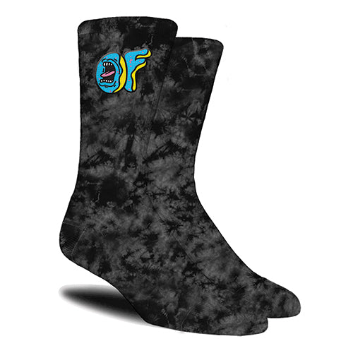 SCREAMING OF X SANTA CRUZ SOCKS JUNIORS BLACK-Odd Future