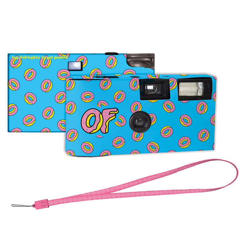 OF LOGO DONUTS DISPOSABLE CAMERA-Odd Future