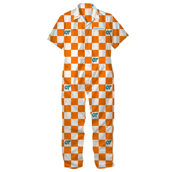 Checkered Coveralls-Odd Future