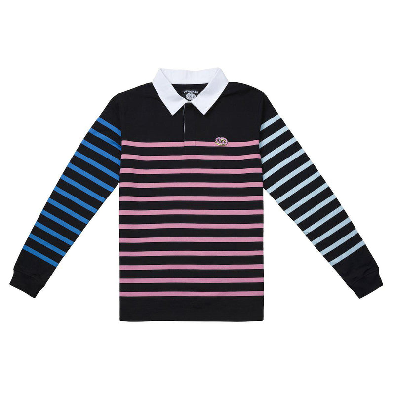 fotos oficiales 593ab d75f3 Striped Rugby Long Sleeve Polo