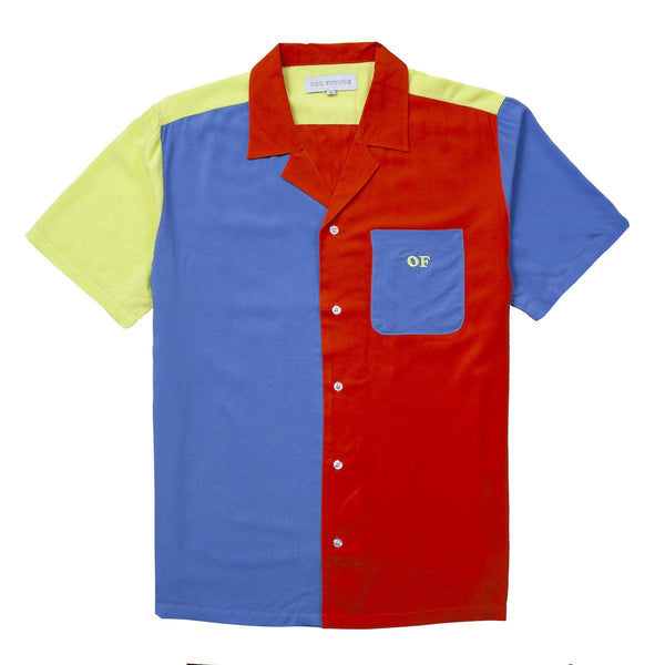 157373abc8a2 COLORBLOCK BOWLING SHIRT - Odd Future