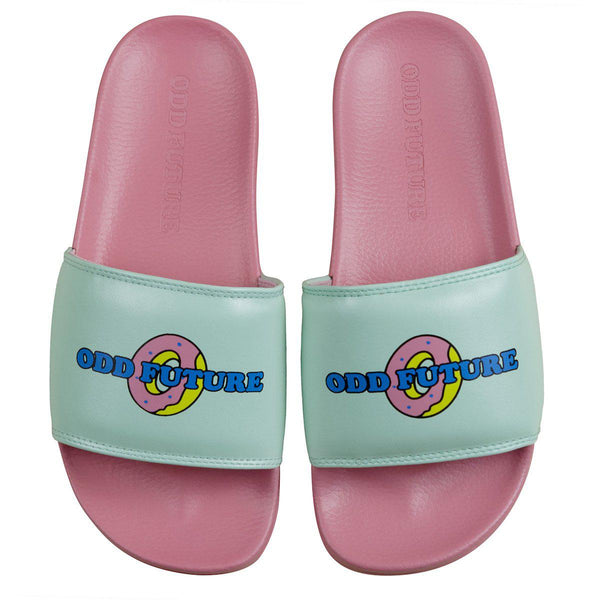 PINK/TEAL SLIDES - Odd Future