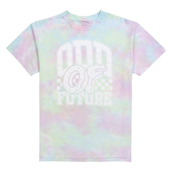TYE DYE CHECKERED TEE - Odd Future