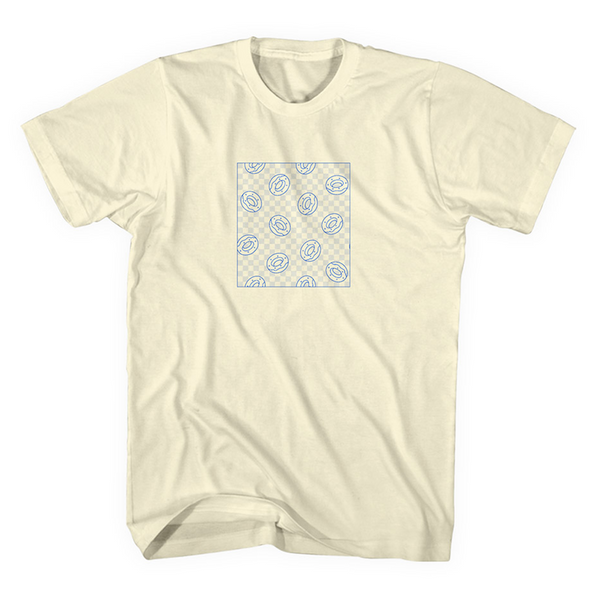 Checkered Box Tee - Light Yellow