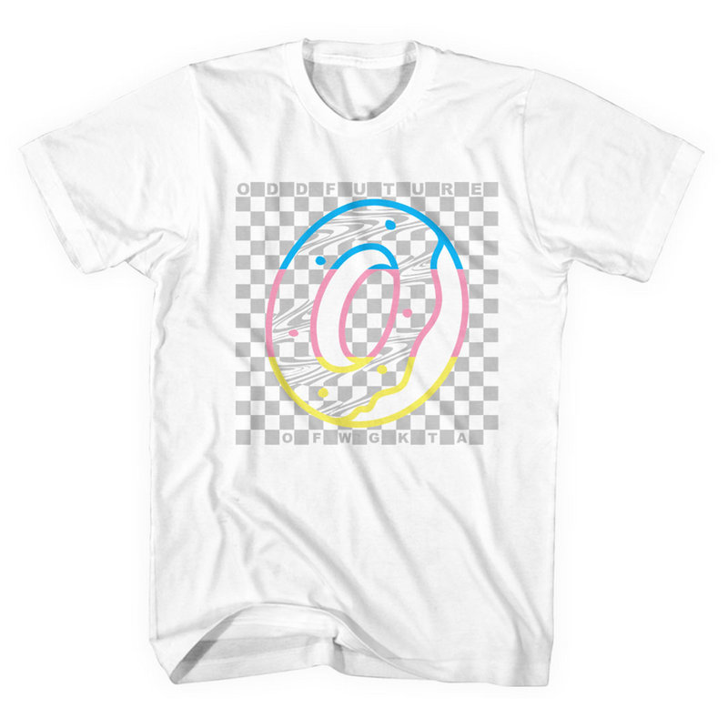 Rainbow Checkered Tee