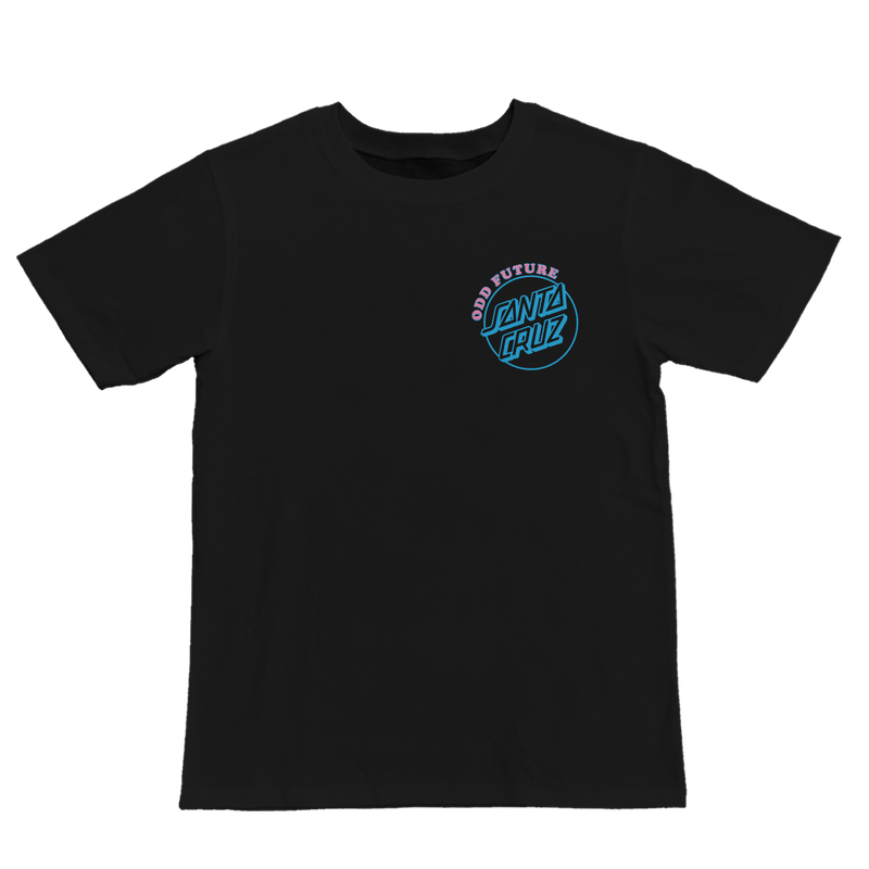 SANTA CRUZ/SCREAMING OF LOGO LADIES TEE-Odd Future