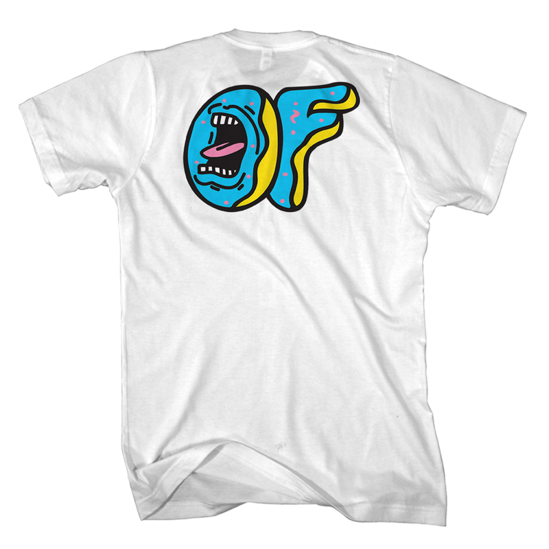 SANTA CRUZ/SCREAMING OF LOGO TEE-Odd Future