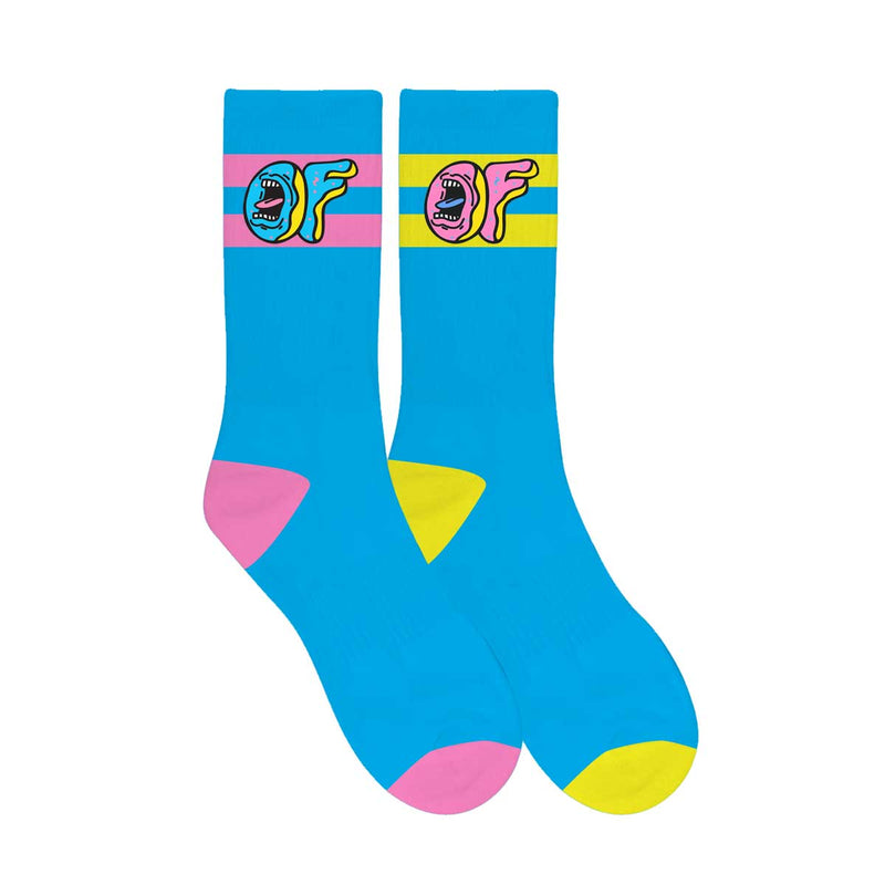 Odd Future x Santa Cruz Mix Match Socks