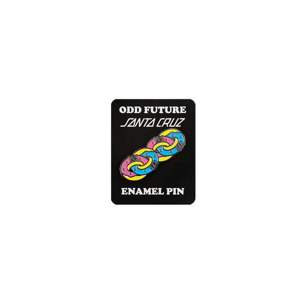 Odd Future x Santa Cruz Linked Donuts Enamel Pin