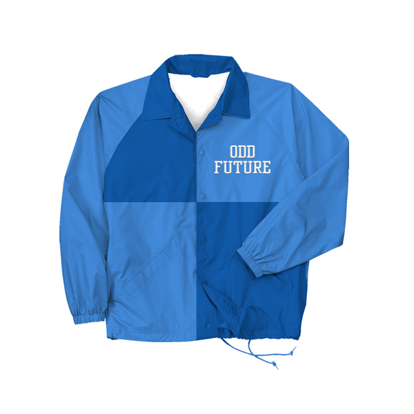 Colorblock Coaches Jacket - Blue
