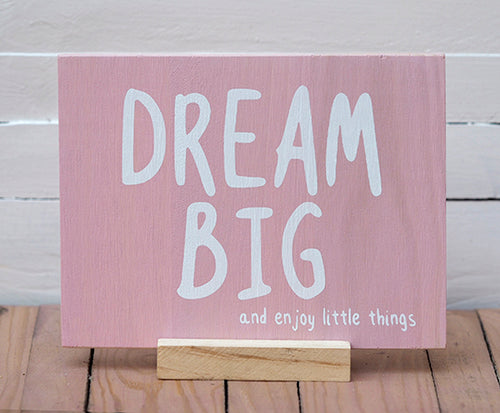 Dream big - Madenista