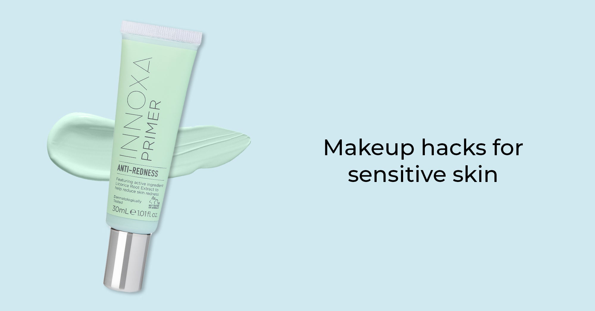 We crush the myths on using makeup with sensitive skin