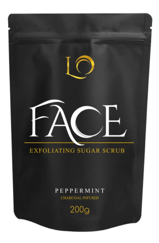 Charcoal & Peppermint Face Scrub