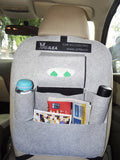 The Organiser - Car Seatback Caddy - Grey - Artilea