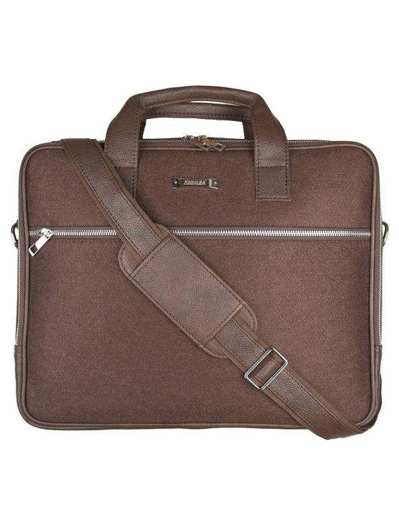 Laptop Bag - SA9026PFSRB - Brown Strap  Laptop Bag Artilea