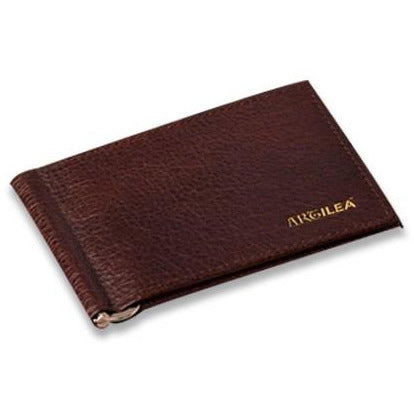 Leather Money Clip - Brown - Artilea Money Clip