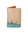 Peach World - Personalized Passport Cover - Suede Printed - Artilea
