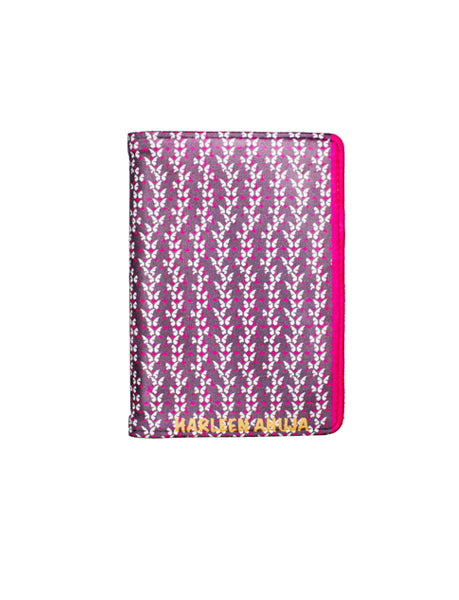 Purple Butterfly - Personalized Passport Cover - Suede - Artilea Passport Cover