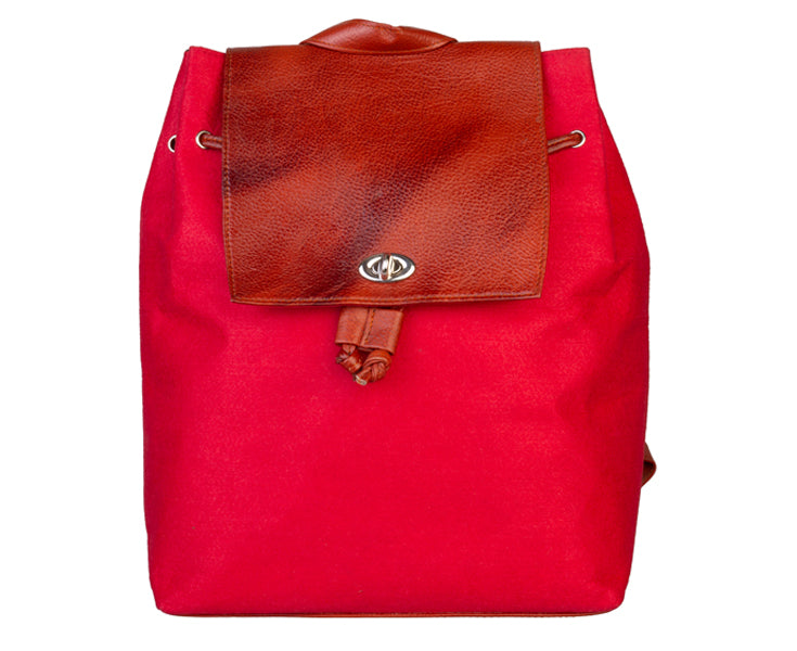 Bagpack - Red Red Backpack Artilea