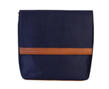 Womens Messenger Bag - Genuine Leather - Blue
