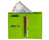 Travel Wallets - Green