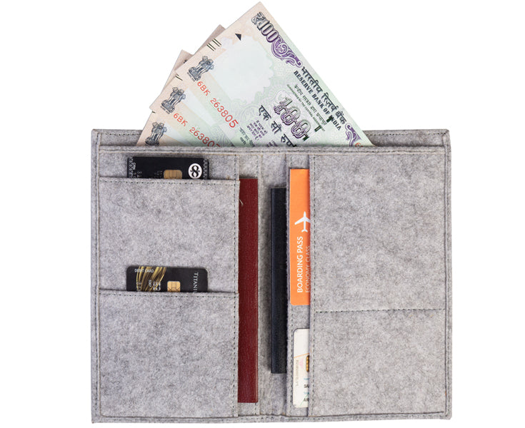 Travel Wallets - Grey